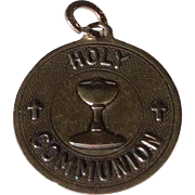 Vintage Sterling Silver Holy Communion Charm