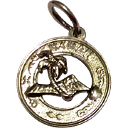 Vintage Sterling Silver Hawaii Charm