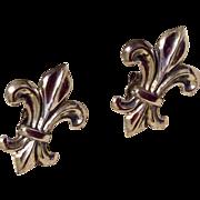 Vintage Sterling Silver Fleur
