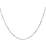 "Vintage Sterling  Silver 30"" Chain Necklace"