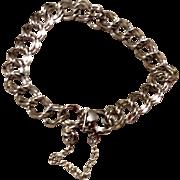 Vintage Sterling Silver Starter Charm Bracelet
