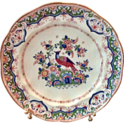 "English Booths Silicon China 9"" Plate ""Old Dulch"""