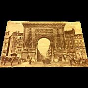 World War I Soldiers Mail Postcard