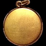 Vintage Gold Filled Photo Locket