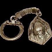 Joanne's Paulus II Silver Tone Metal Key Chain