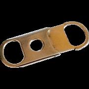 Vintage Sterling Silver Cigar Cutter
