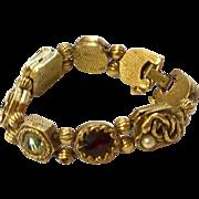 Vintage Goldette Slide Bracelet