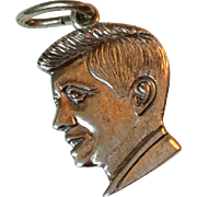 Vintage Beau Sterling Silver John F. Kennedy Charm