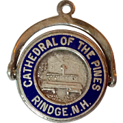 Vintage Sterling Silver Cathedral Of The Pines