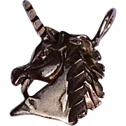 Vintage Sterling Silver Unicorn Charm