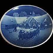 Vintage Royal Copenhagen B & G 1969 Christmas Plate