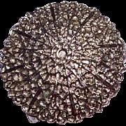 Vintage Silver Tone Metal Scarf Clip