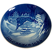 Vintage Royal Copenhagen B & G 1964 Christmas Plate