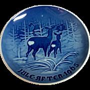 Vintage Royal Copenhagen B & G 1965 Christmas Plate