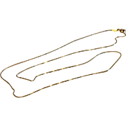 "Vintage 18 K Gold 191/2"" Chain"