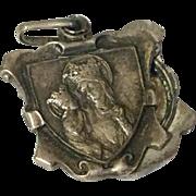 Vintage St. Anne Sliding Medal