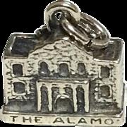 Vintage Sterling Silver Alamo Charm