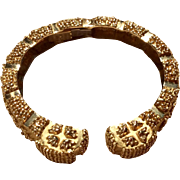 Wander France 18 K Gold Clamper Bracelet