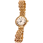 Vintage Tiffany & Company 14 K Gold Watch
