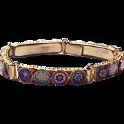 Vintage Micro Mosaic Bracelet