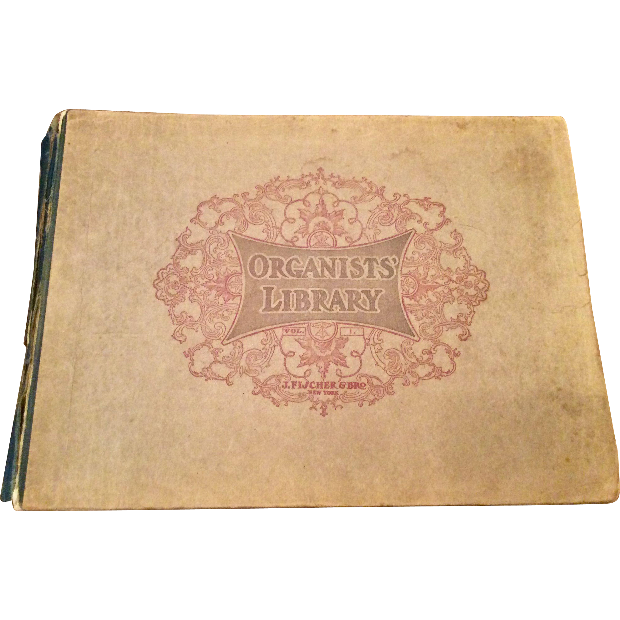 1901 Fisher's Edition Of Organ Books