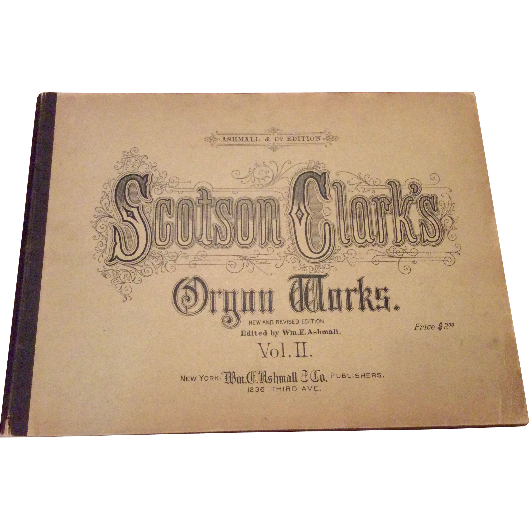 1891 Scotson Clark's Organ Works