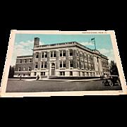 Vintage New High School Pekin Illinois