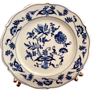 Vintage Blue Danube Blue Onion Bread & Butter Plate