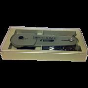 Sears Kenmore Button Hole Attachment in Original Box