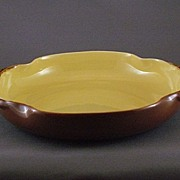 Vintage Haldeman 'Caliente' Pottery Flower Bowl