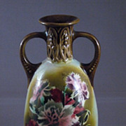 Vintage Czechoslovakia Porcelain Art Vase