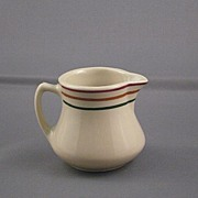 Vintage Ceramic Cream Pitcher, Sterling Vitrified China