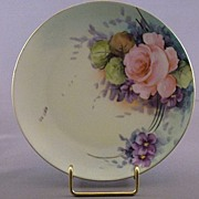Handpainted Fritz Thomas Bavaria China Plate