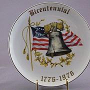 Vintage Bicentennial Souvenir Plate Cordon Blue Fine China