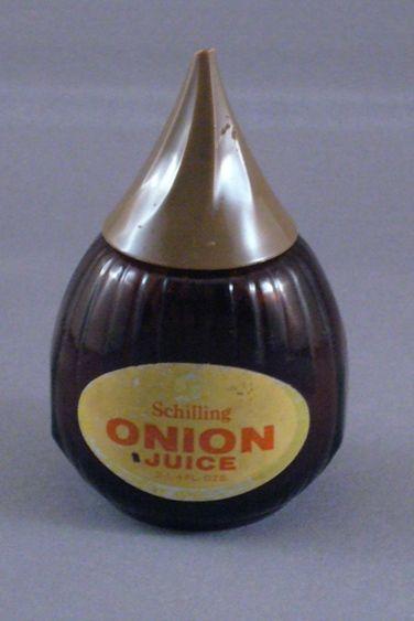 Vintage Schilling Onion Juice Container