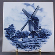 Delft Tile By J.C.V. Hunnik