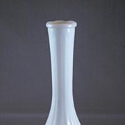 Vintage White Milk Glass Bud Vase