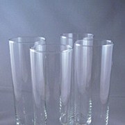 Set Of Four Libbey Tall Drink Glasses