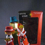 Brite Star Musical Caroleers In Original Box