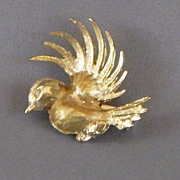 Vintage Bird In Flight Pin