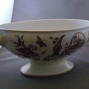 T. Elsmore and Son Transferware Porcelain Serving Tureen