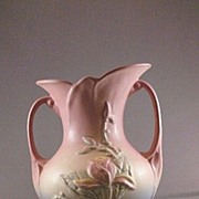 "Hull Vase USA 3-8 1/2"" Magnolia Pattern"