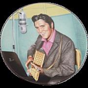 "1990 Elvis Presley Delphi collector plate ""Looking at a Legend"""