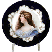 Porcelain Cabinet Plate Rosenthal Manufactory about 1900