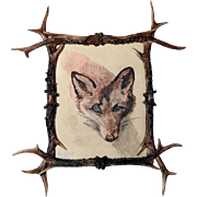 Beautiful Antler Frame Wall Frame
