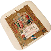 French Baptism Candy Box 1888