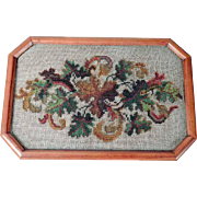 Charming Dresser Tray Beadwork Insert ca. 1900