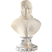 Bust of Pope Pius IX Baccarat Manufactory