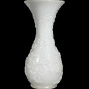 19th Century Stunning White Opaline Vase – Biedermeier Era