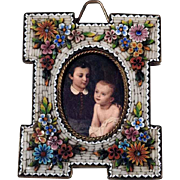 Lovely Micro Mosaic Frame Special Shape